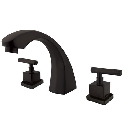 Kingston Brass Claremont Oil Rubbed Bronze Roman Tub Filler Faucet KS4365CQL