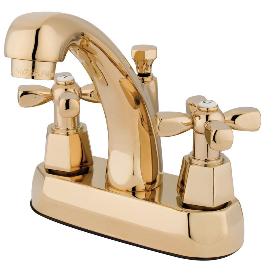 Centerset Bathroom Faucets - 4 inch spread Center Set Lavatory ...