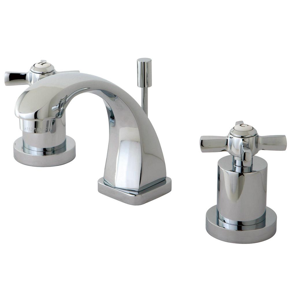 Kingston Brass KS4941ZX Mini Widespread Bathroom Faucet Polished Chrome