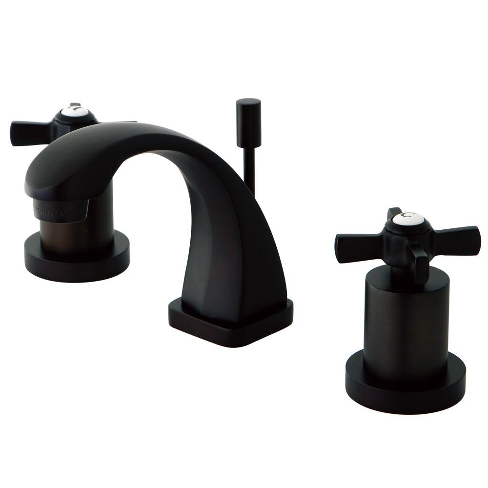 Kingston Brass KS4945ZX Mini Widespread Bathroom Faucet Oil Rubbed Bronze