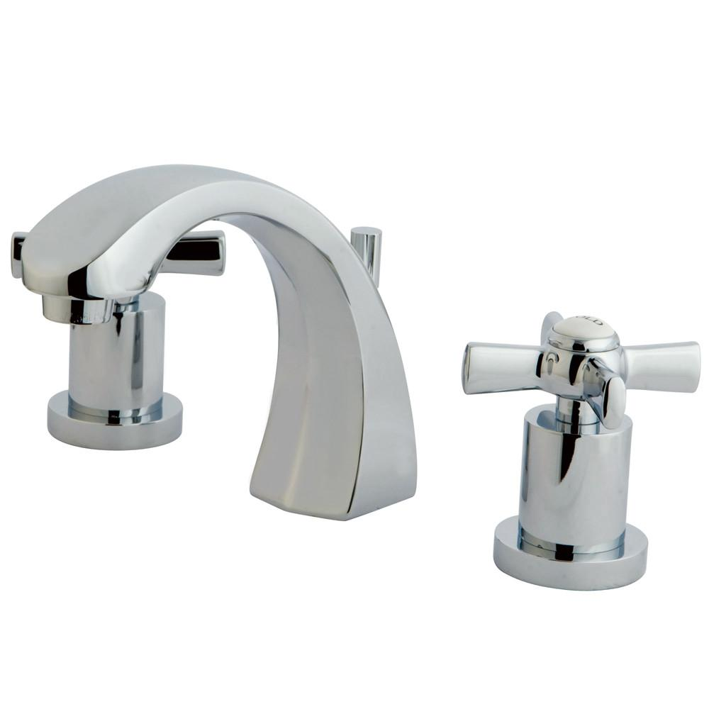 Kingston Brass KS4981ZX Widespread Bathroom Faucet Polished Chrome