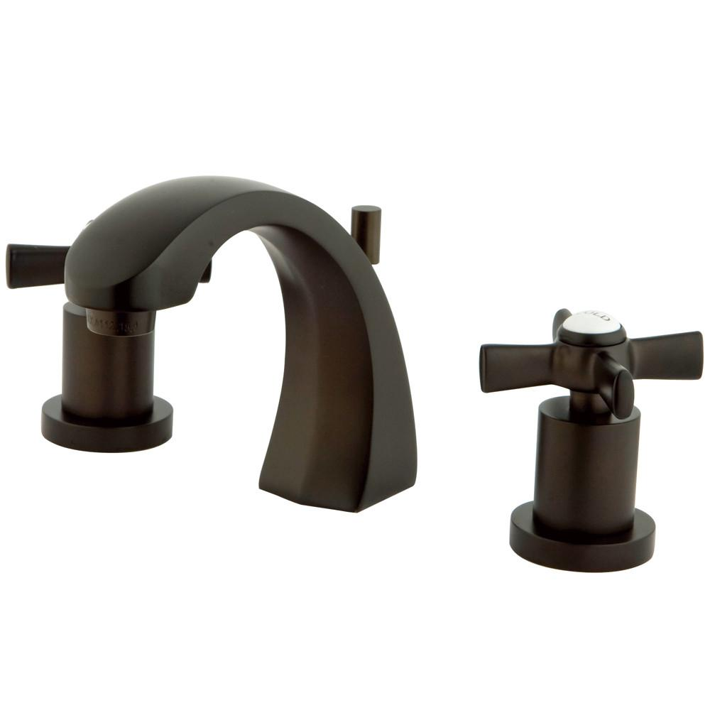 Kingston Brass KS4985ZX Widespread Bathroom Faucet Oil Rubbed Bronze