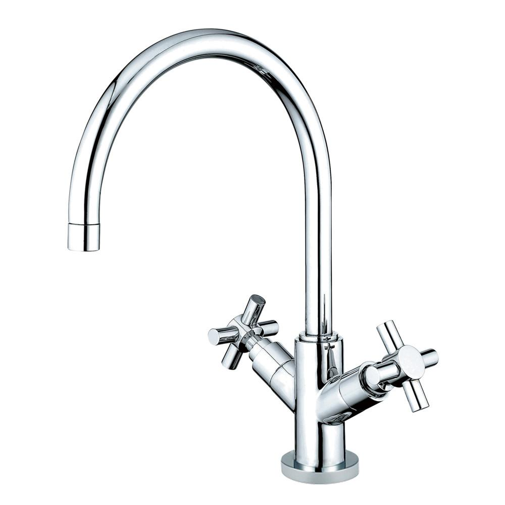 Kingston Brass Concord Chrome Two Handle Vessel Sink Faucet KS8261JX