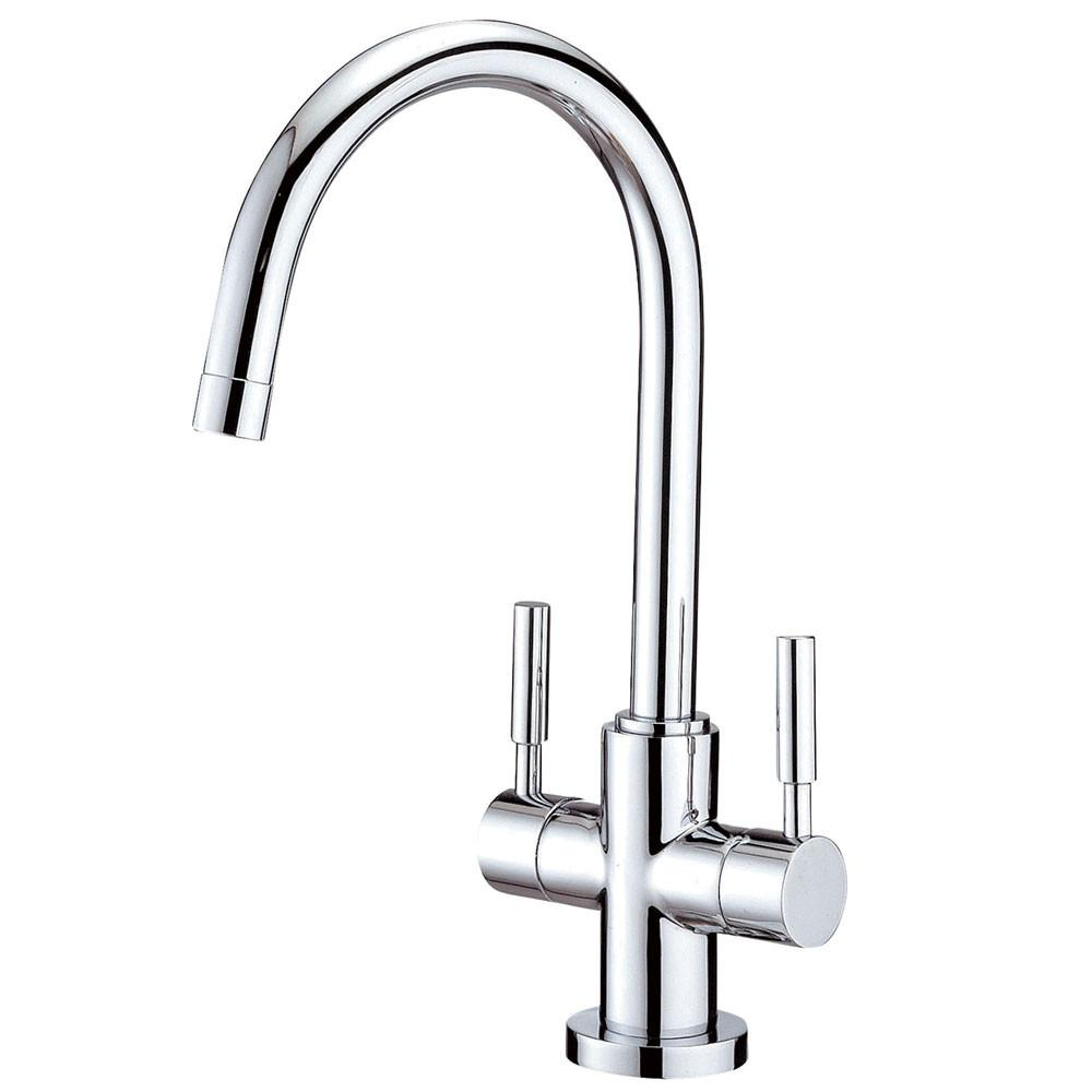 Kingston Brass Concord Chrome Two Handle Vessel Sink Faucet KS8291DL