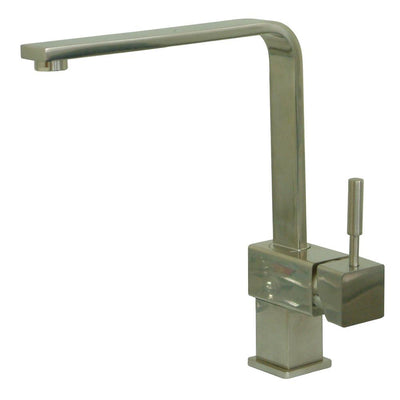 Kingston Brass Concord Satin Nickel Single Handle Kitchen Faucet KS8478DL