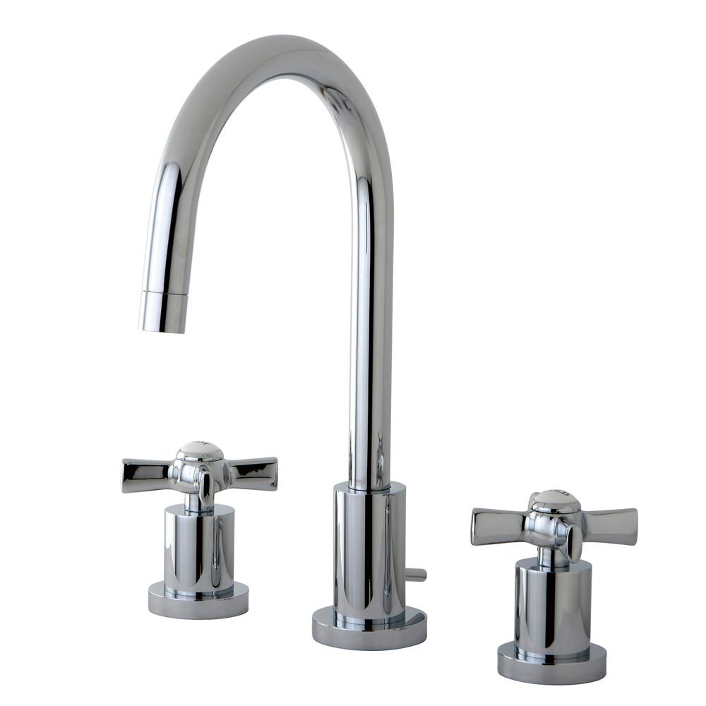 Kingston Brass KS8951ZX widespread Bathroom Faucet Polished Chrome