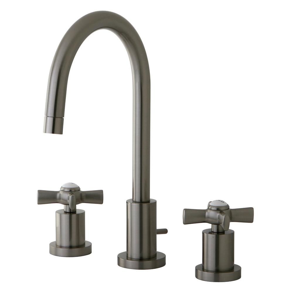 Kingston Brass KS8958ZX widespread Bathroom Faucet Satin Nickel