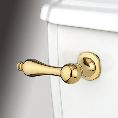 Kingston Brass Polished Brass Victorian Toilet Tank Flush Handle Lever KTAL2
