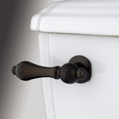 Kingston Oil Rubbed Bronze Restoration Toilet Tank Flush Handle Lever KTAL35