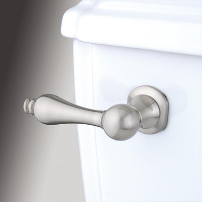 Kingston Brass Satin Nickel Victorian Toilet Tank Flush Handle Lever KTAL8