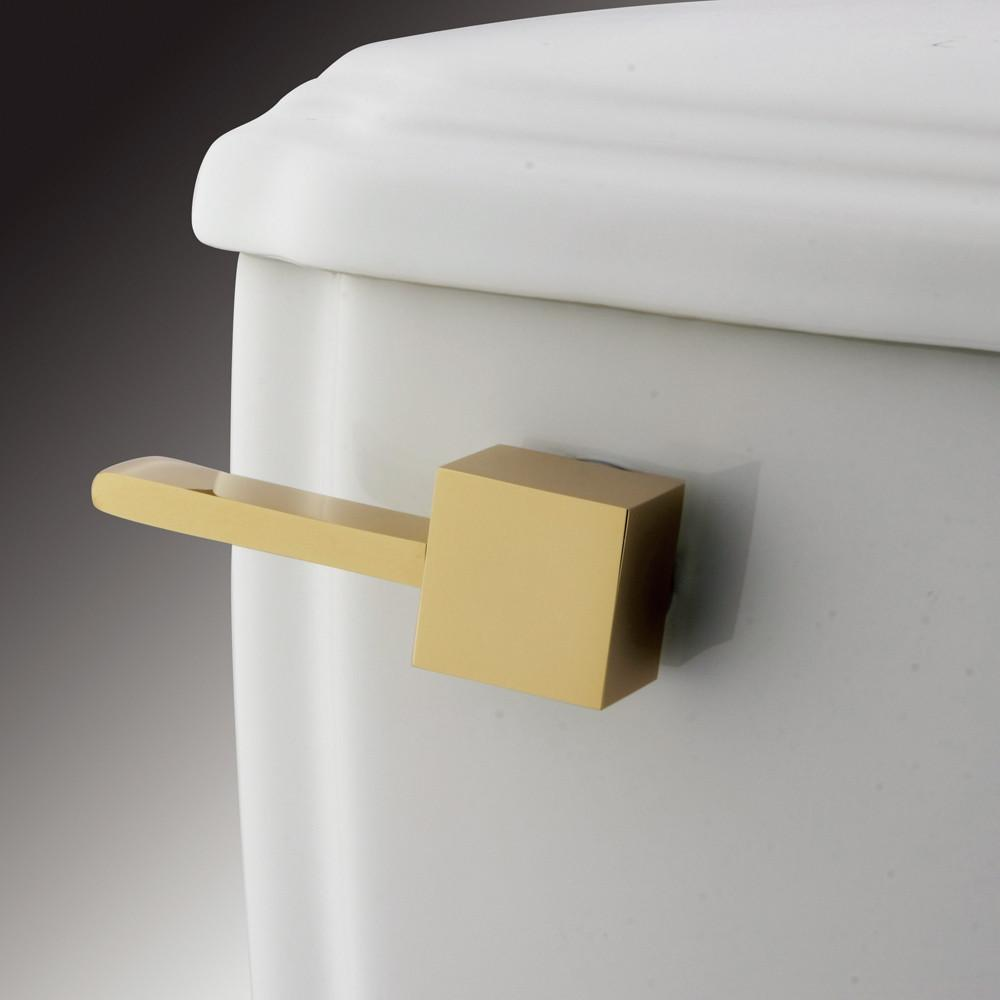 Kingston Brass Claremont Polished Brass Claremont Toilet Tank Flush Lever KTCL2
