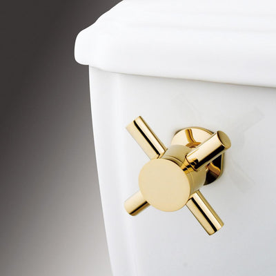 Kingston Brass Concord Polished Brass Toilet Tank Lever KTDX2