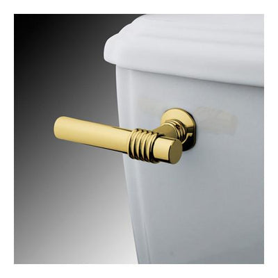 Kingston Brass Polished Brass Milano Toilet Tank Flush Handle Lever KTML2