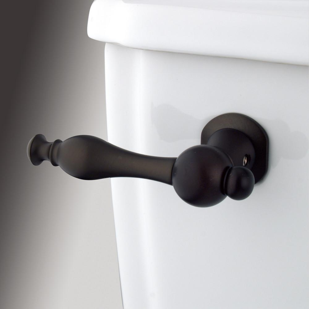 Kingston Brass Oil Rubbed Bronze Naples Toilet Tank Flush Handle Lever KTNL5