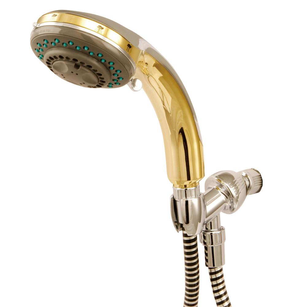 Kingston Brass Chrome / Polished Brass Adjustable Personal Shower Spray KX2524