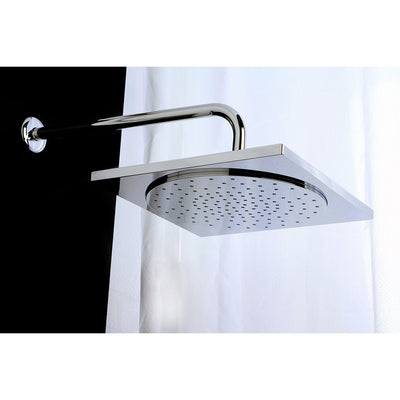 "Kingston Brass Claremont Chrome 12"" x 12"" Square Shower Head KX8221"
