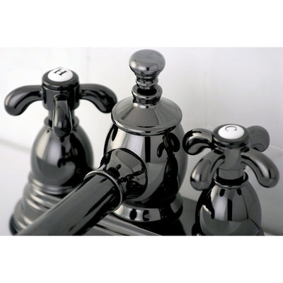 Kingston Water Onyx Black Nickel finish Centerset Bathroom Sink Faucet NS7000TX