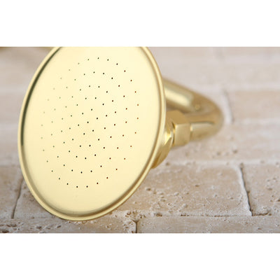 "Kingston Brass Showerheads Polished Brass 4-7/8"" Shower Head P10PB"