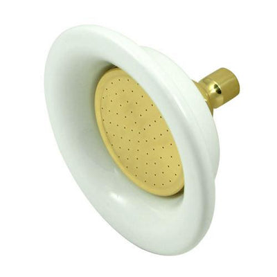 "Kingston Brass Showerheads Polished Brass 6-1/4"" Sunflower Shower Head P60PB"