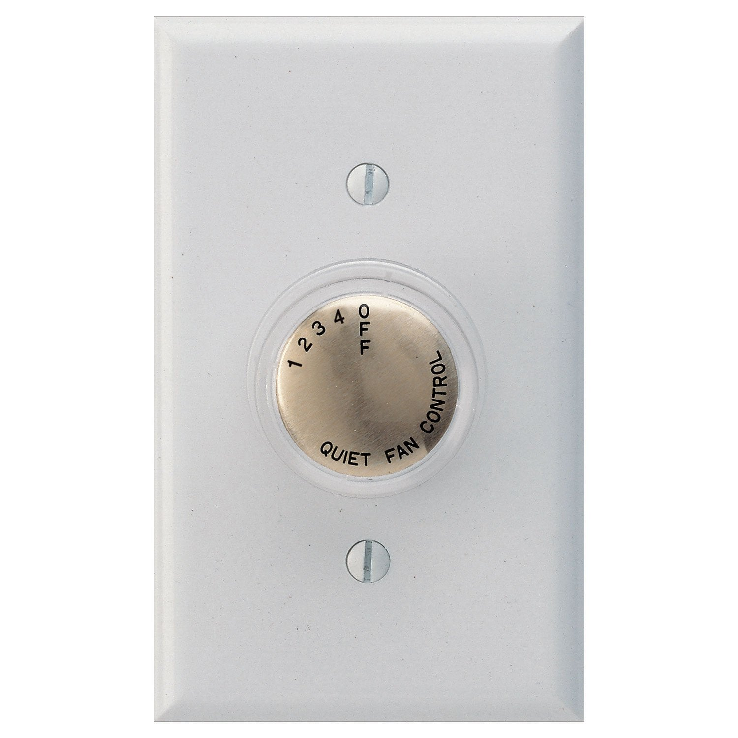 Concord Fans 4 Speed Clear Rotary Knob Ceiling Fan Wall Control