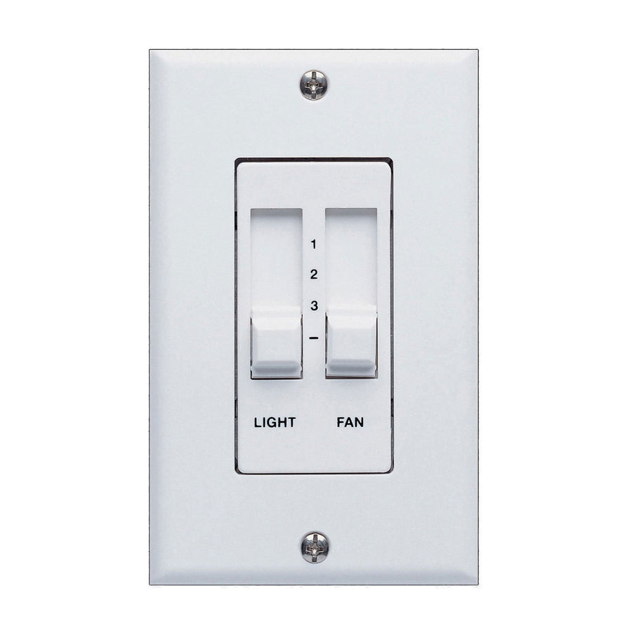 concord fans 3 speed 3 level light dimmer ceiling fan slider wall control switch