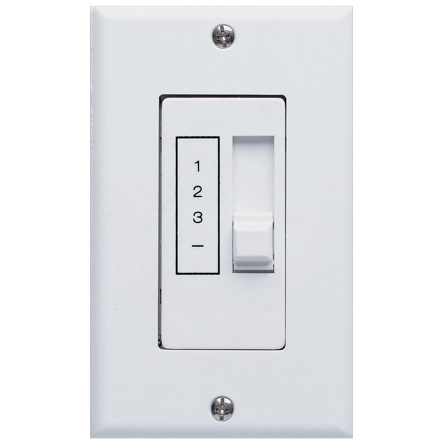Amazing Concord Fans 3 Speed Ceiling Fan Slider White Wall Control Switch