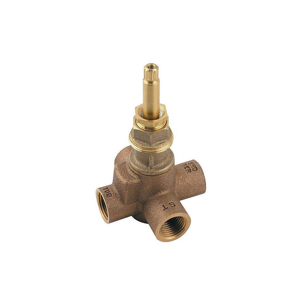 Price Pfister 2-Way 4-Port Diverter Valve 296645