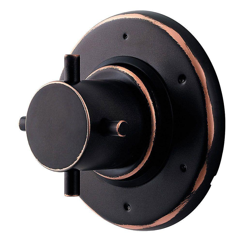 Price Pfister 16 Series Single-Handle Diverter Valve Trim Kit in Tuscan Bronze (Valve Not Included) 544394