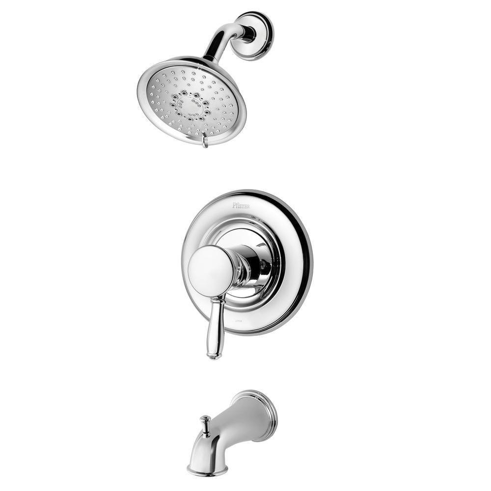 Price Pfister Universal 1-Handle Tub and Shower Faucet Trim Kit in ...