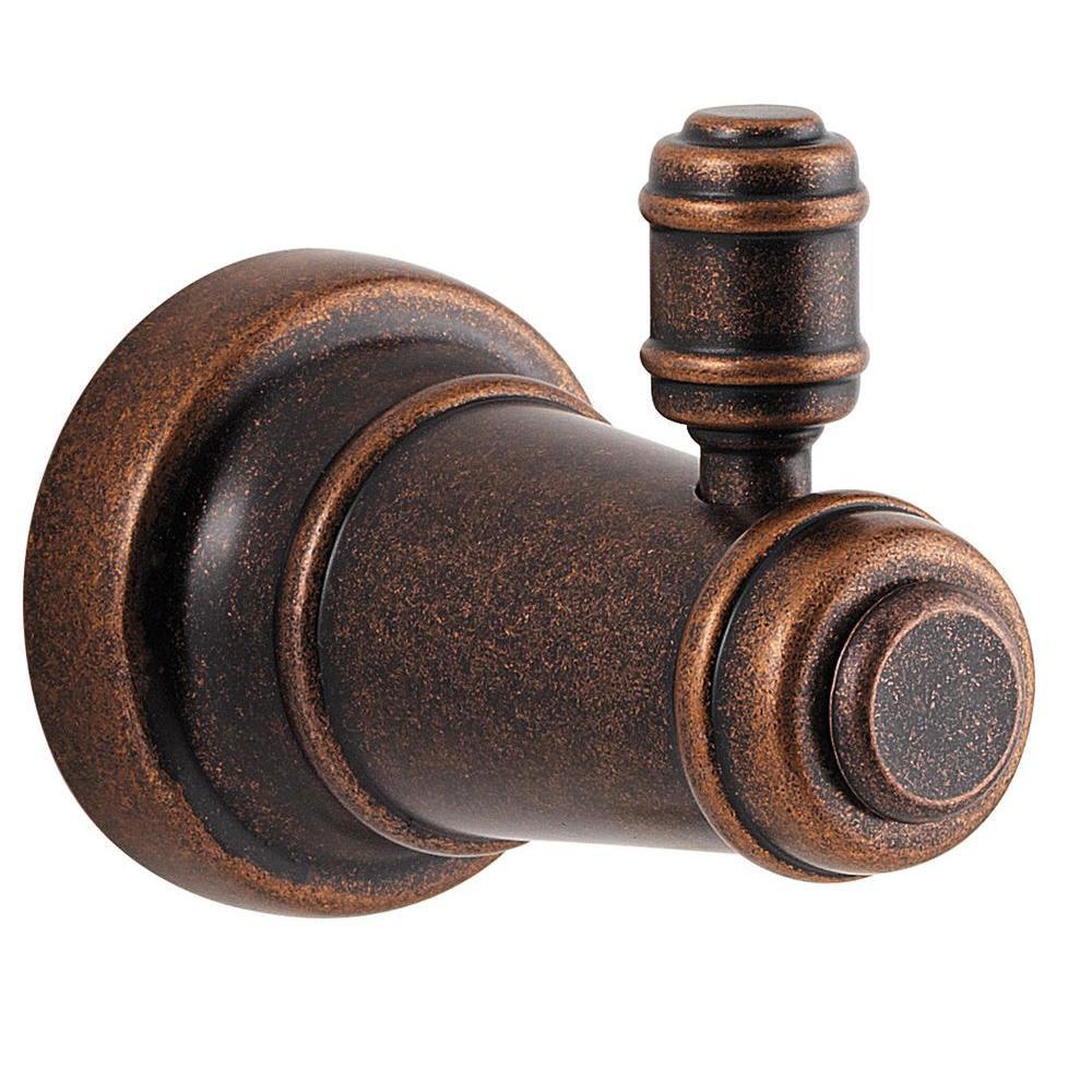 Price Pfister Ashfield Single Robe Hook in Rustic Bronze 763752