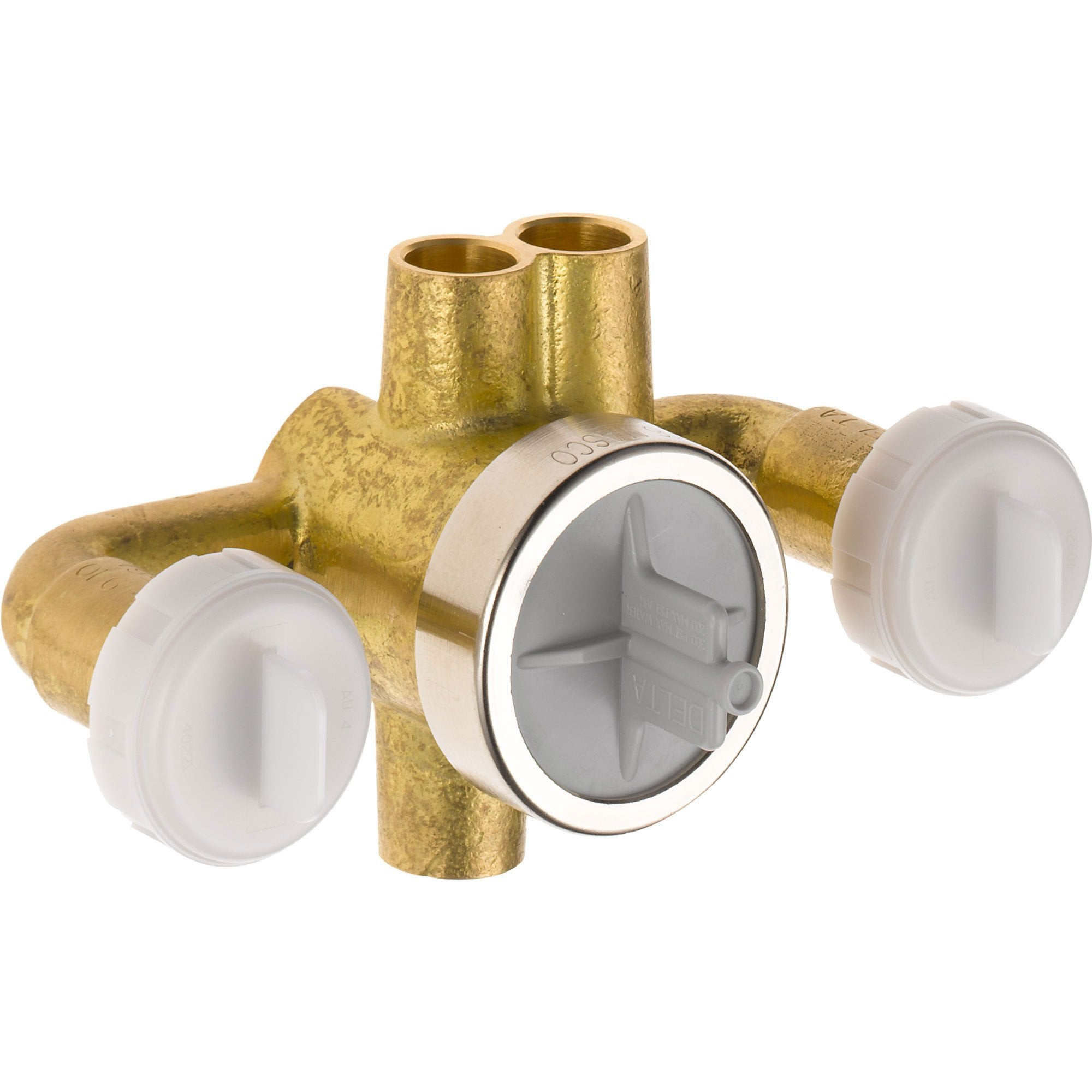 Delta Jetted Shower 6-Setting Rough-In Valve with Extra Outlet 555856