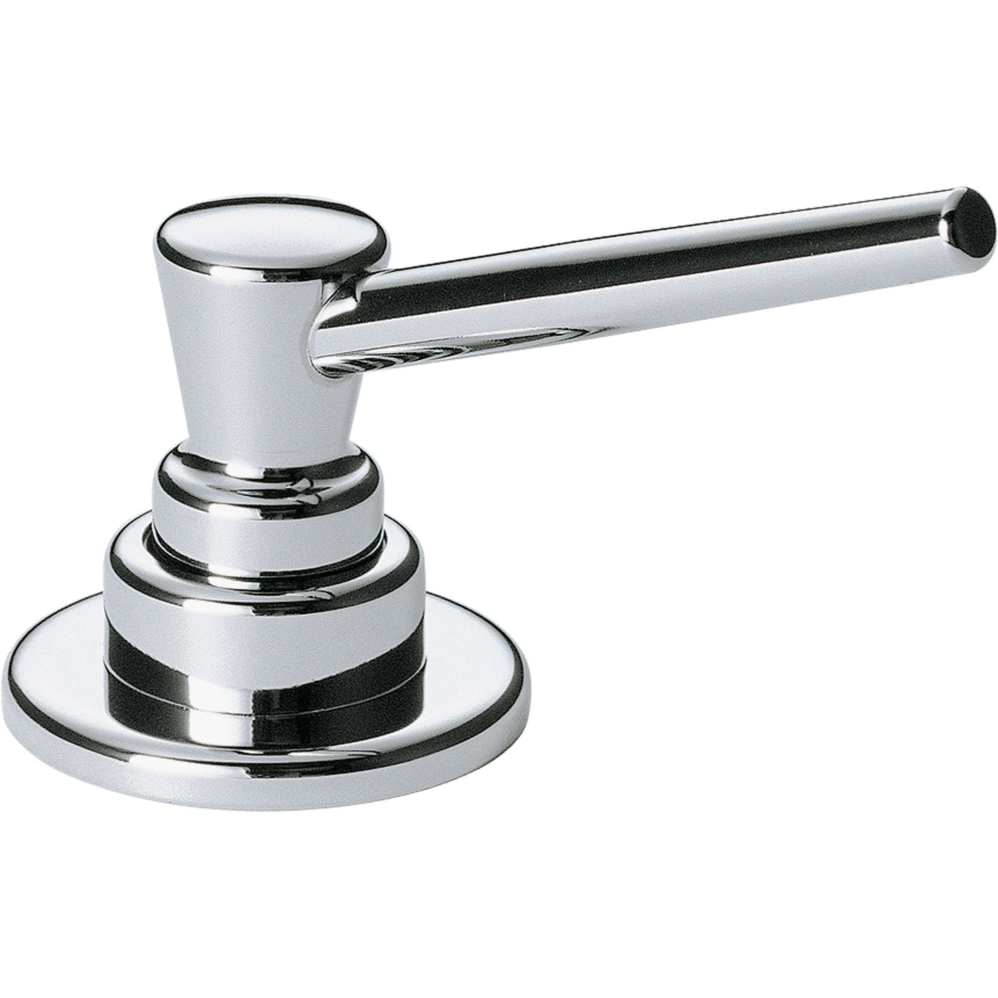 Delta Classic Deck Mount Chrome Soap and Lotion Dispenser 208141