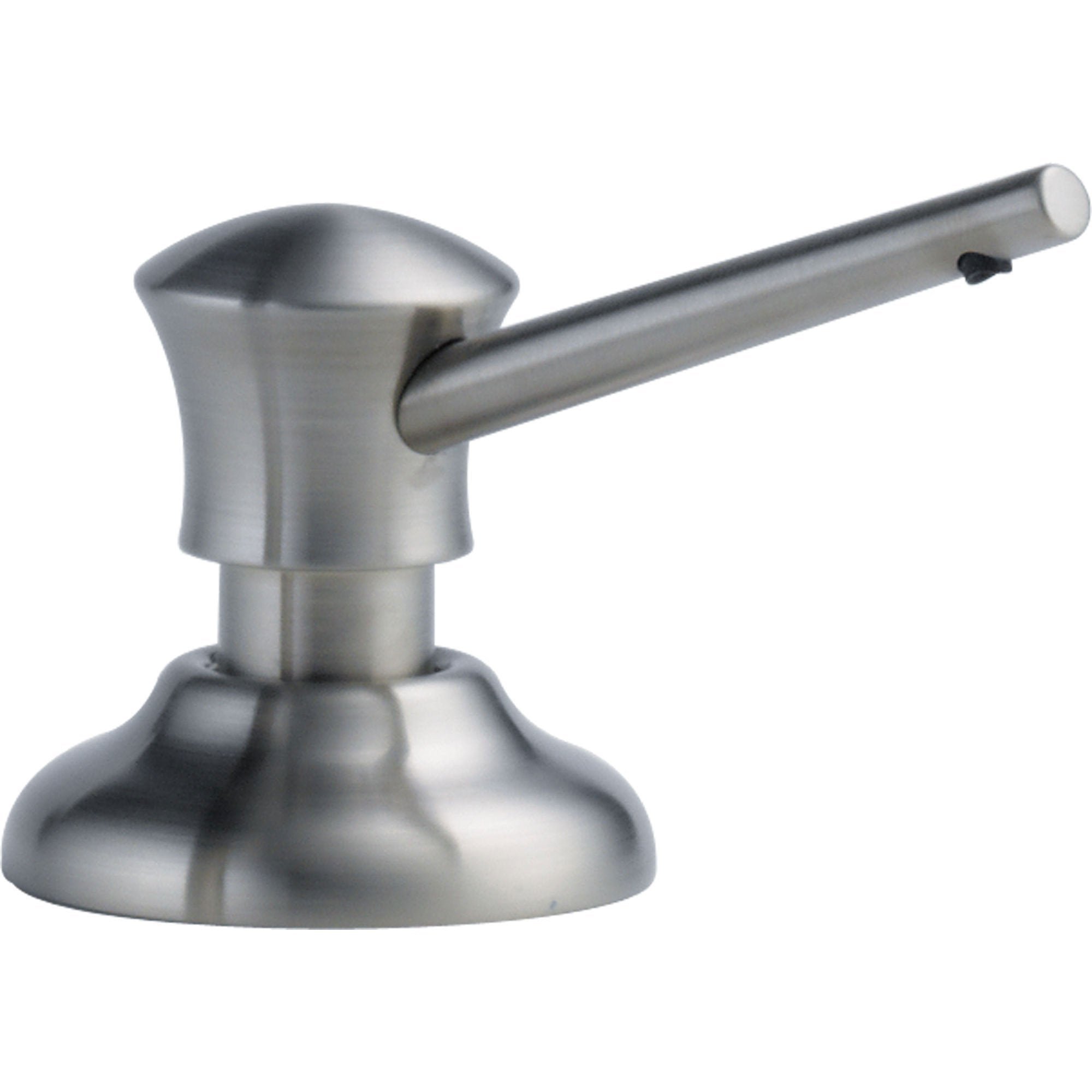 Delta Countertop Mount Arctic Stainless Finish Soap and Lotion Dispenser 555859