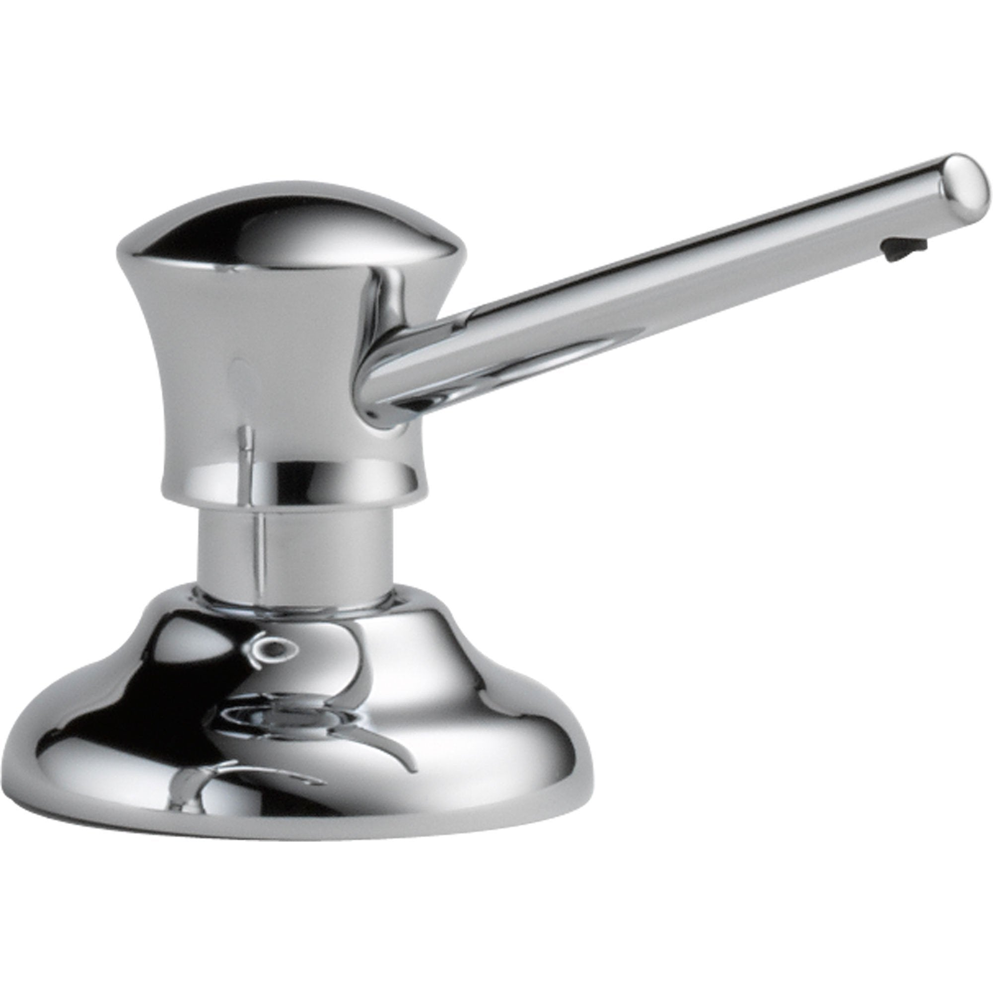 Delta Classic Counter-Top Mount Chrome Soap and Lotion Dispenser 555858