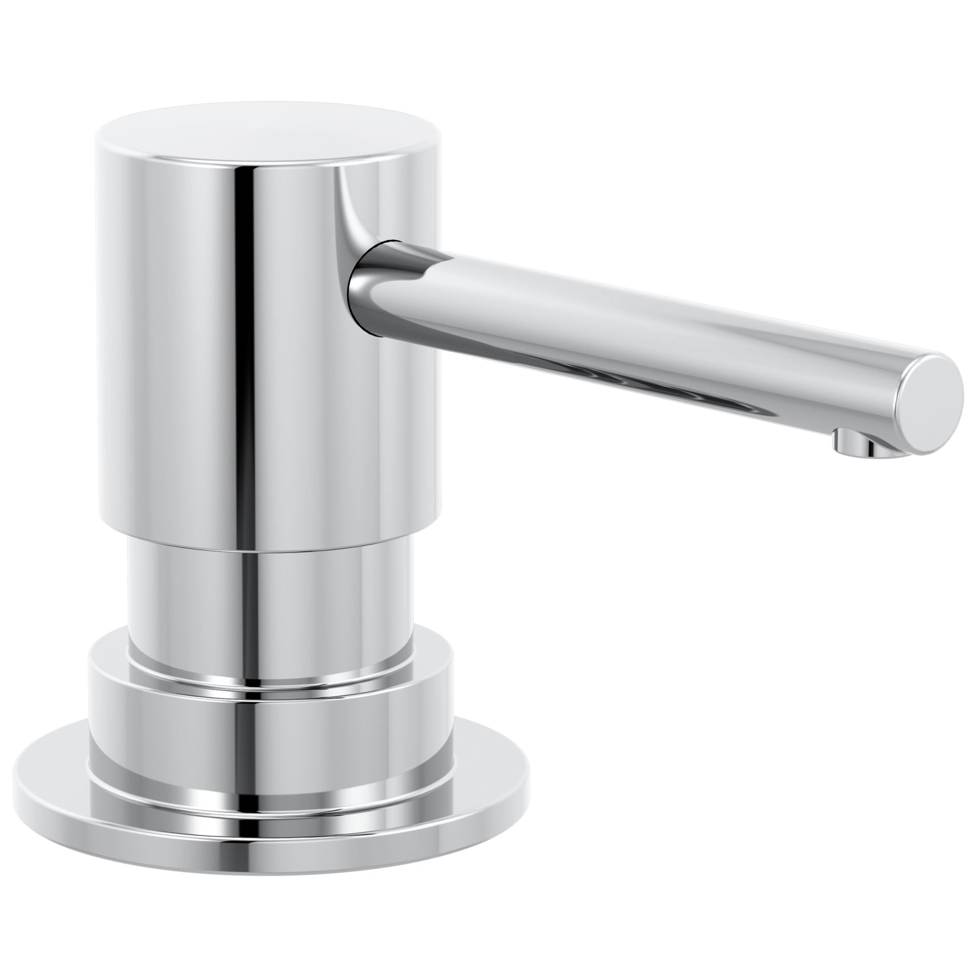 Delta Trinsic Chrome Finish Metal Soap Dispenser DRP100734