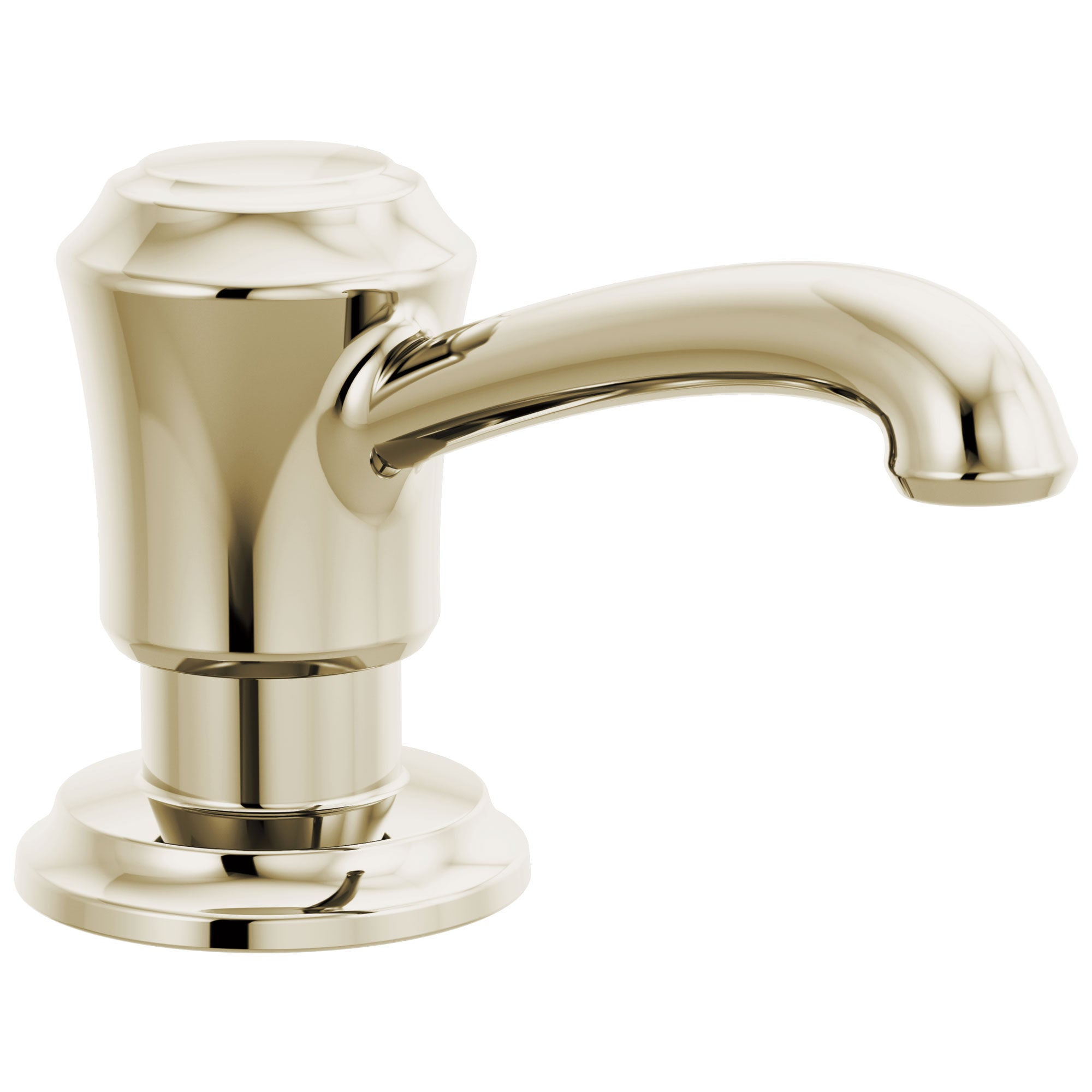 Delta Cassidy Polished Nickel Finish Metal Soap Dispenser DRP100735PN