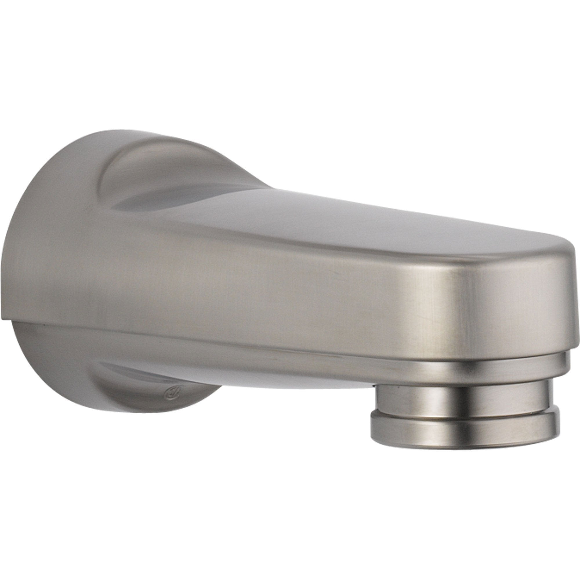 Delta Innovations Stainless Steel Finish Pull-down Diverter Tub Spout 725233