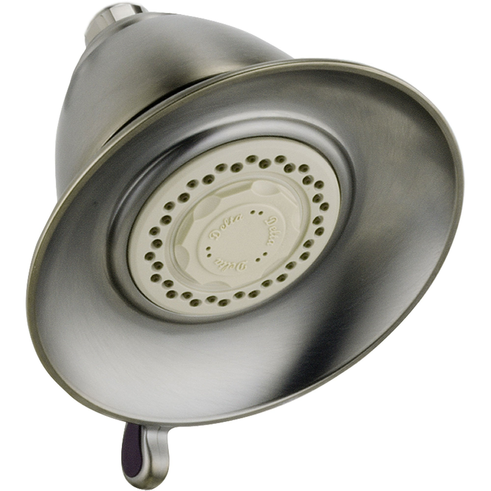 "Delta Victorian 5-1/2"" Stainless Steel Finish Touch-Clean Showerhead 538153"