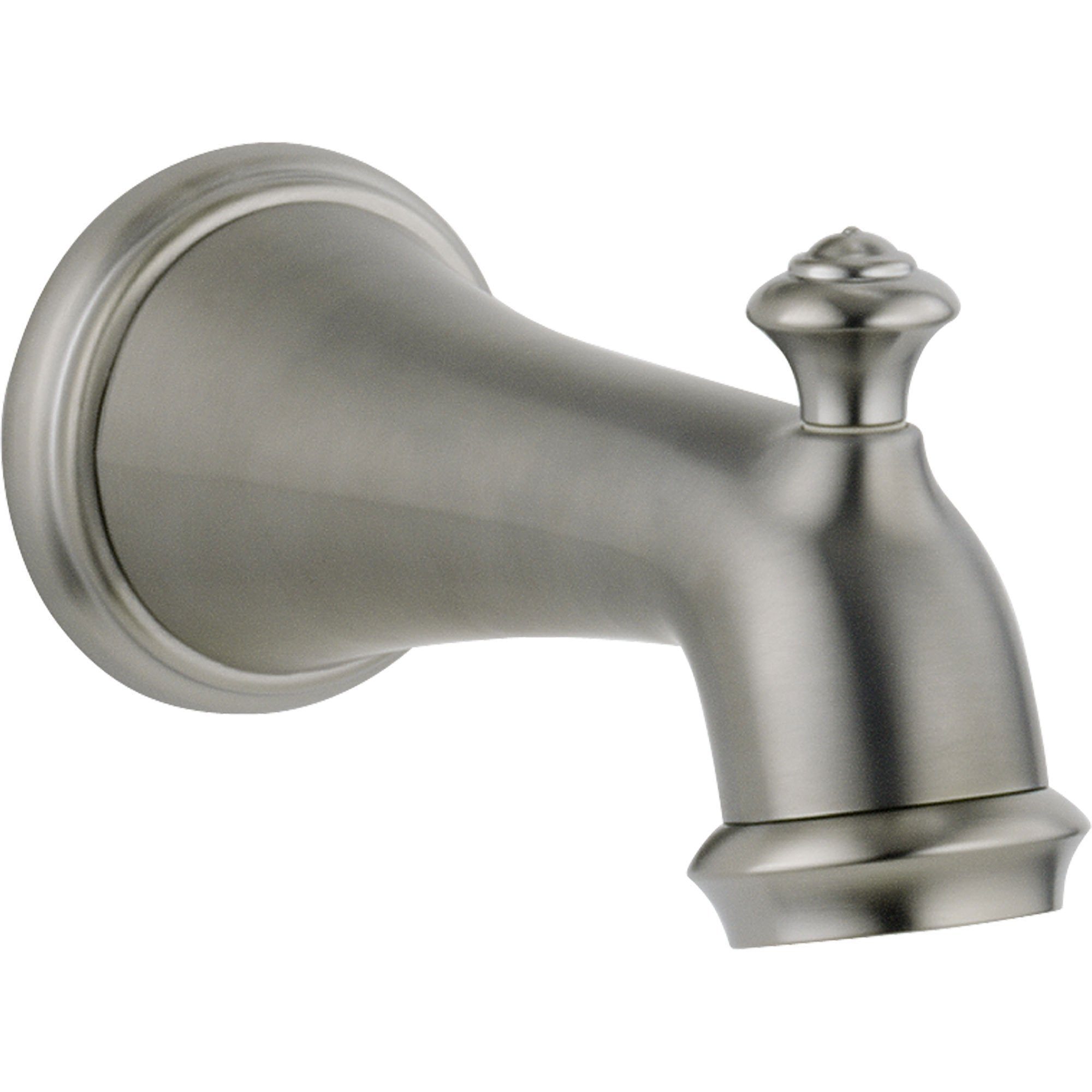 Delta Victorian Stainless Steel Finish Pull-up Diverter Tub Spout 512489