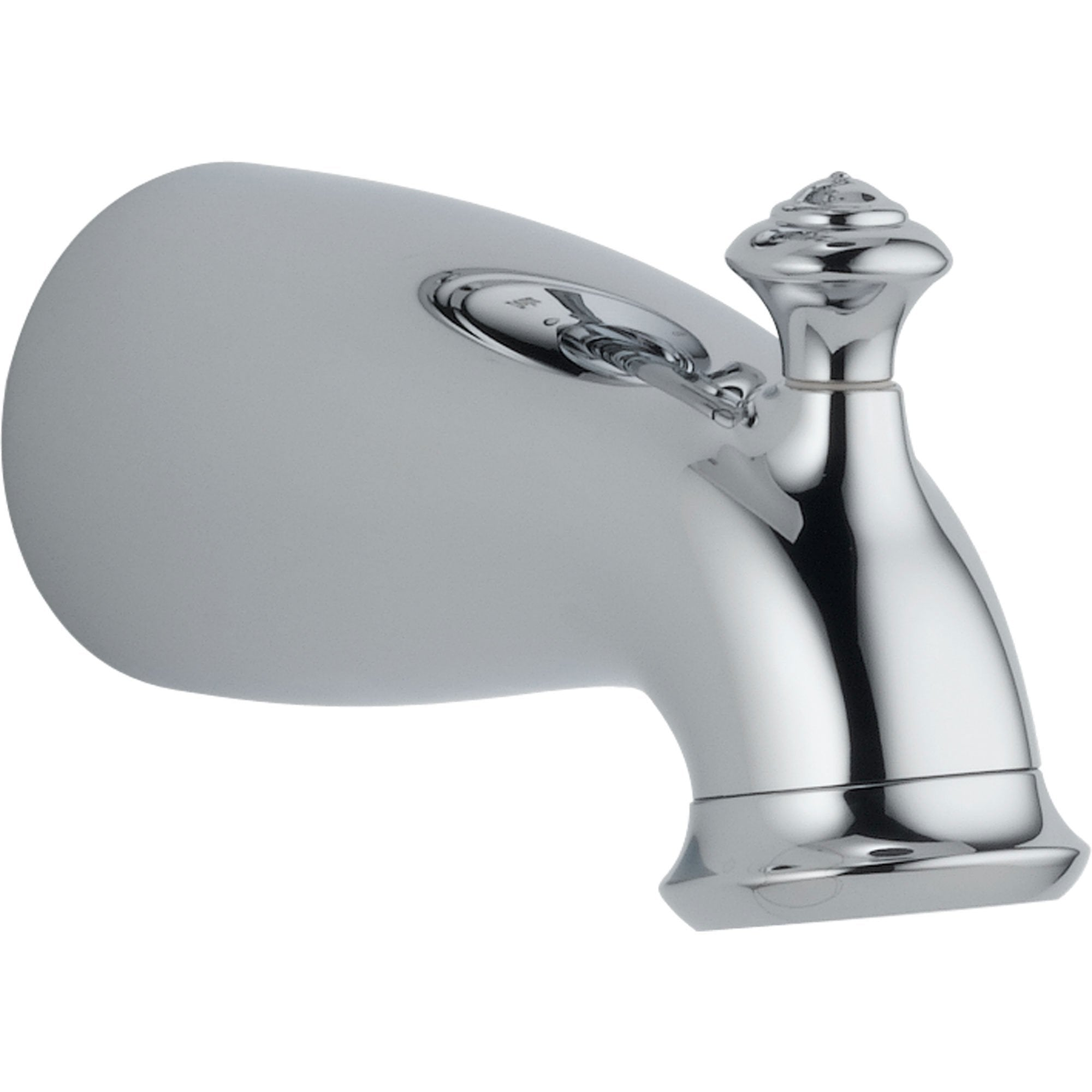 Delta Leland 6-1/2 in. Pull-Up Diverter Tub Spout in Chrome 588641
