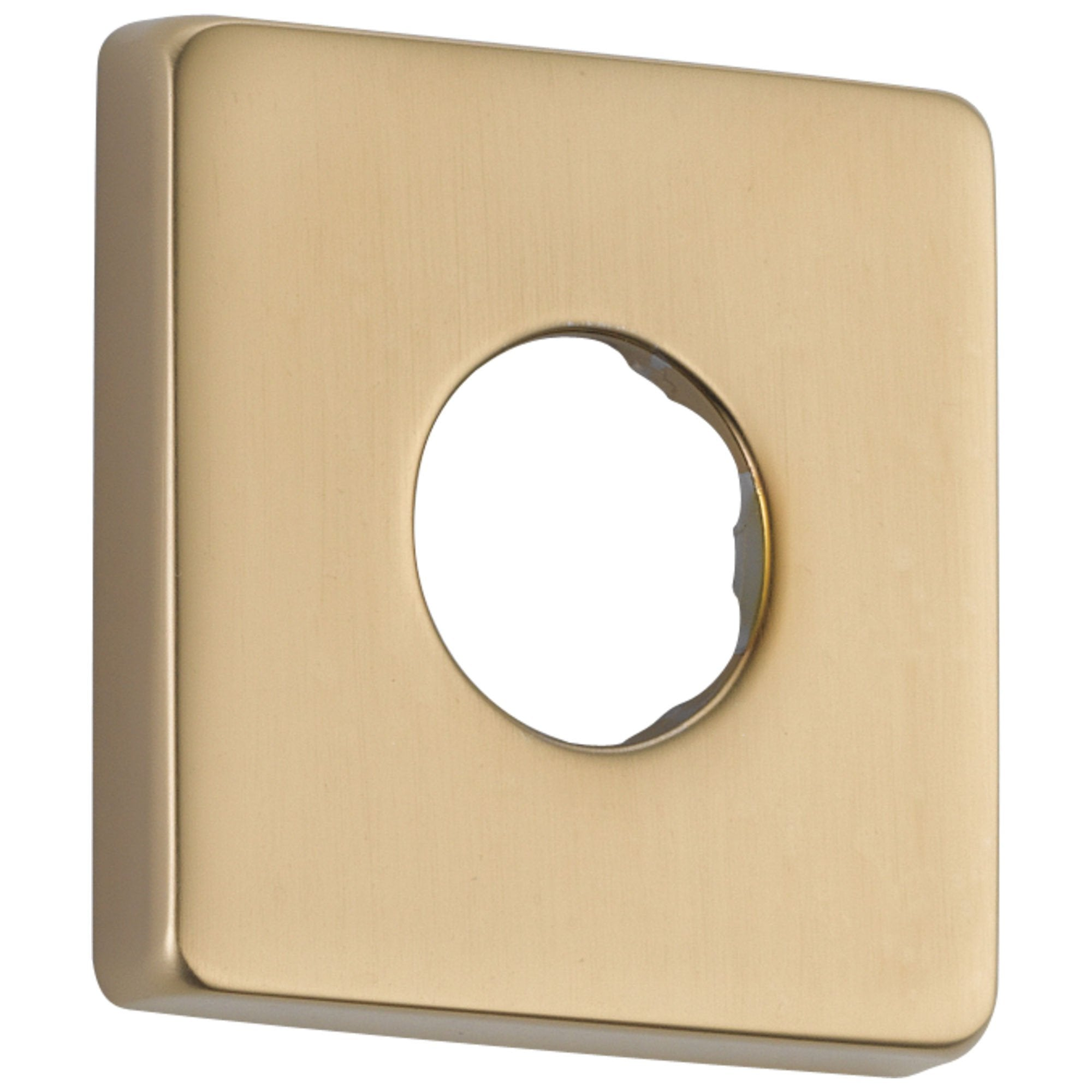 Delta Champagne Bronze Finish Modern Square Shower Arm Flange 564436
