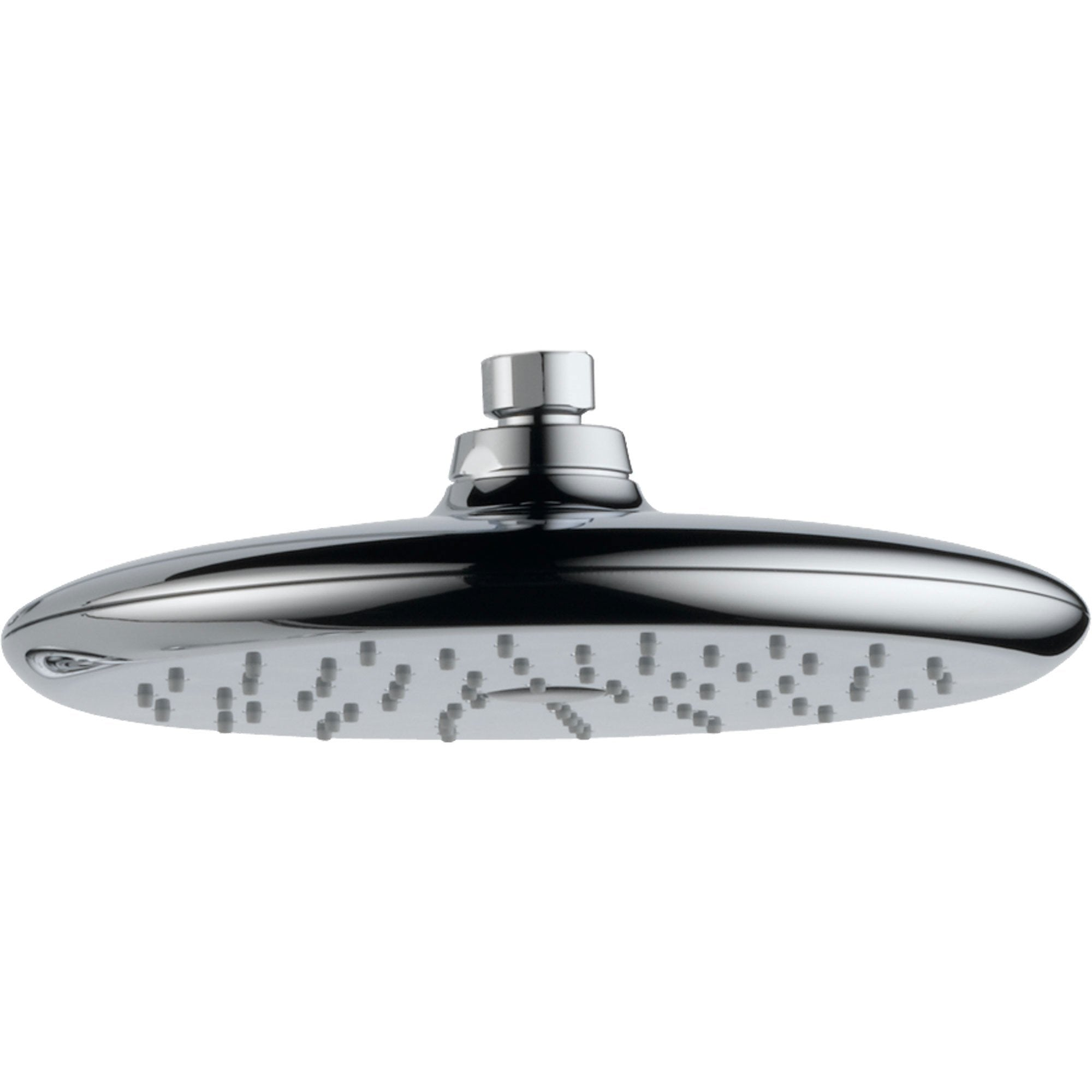 Delta Rizu Modern 1-Spray Large 8-3/4 in. Chrome Rain Showerhead 571832