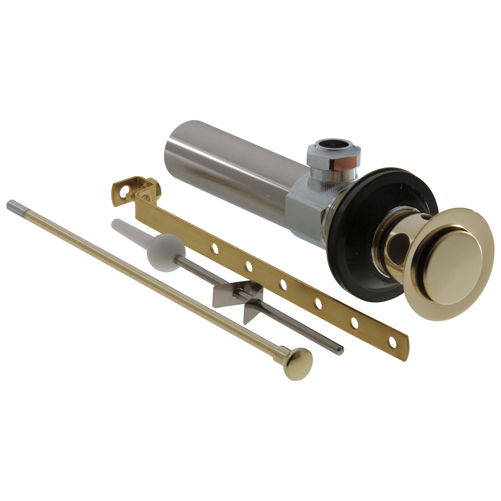 Delta Polished Brass Finish Lavatory Bathroom Sink Metal Drain Assembly 818443