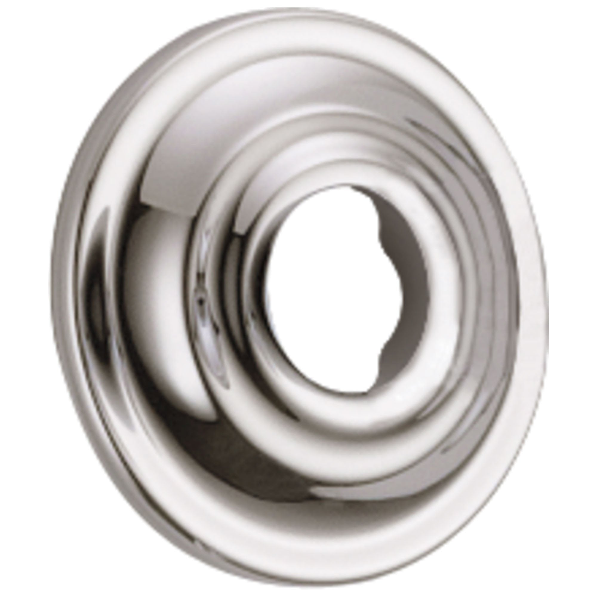 Delta Cassidy Collection Polished Nickel Finish Standard Shower Arm Flange DRP72562PN