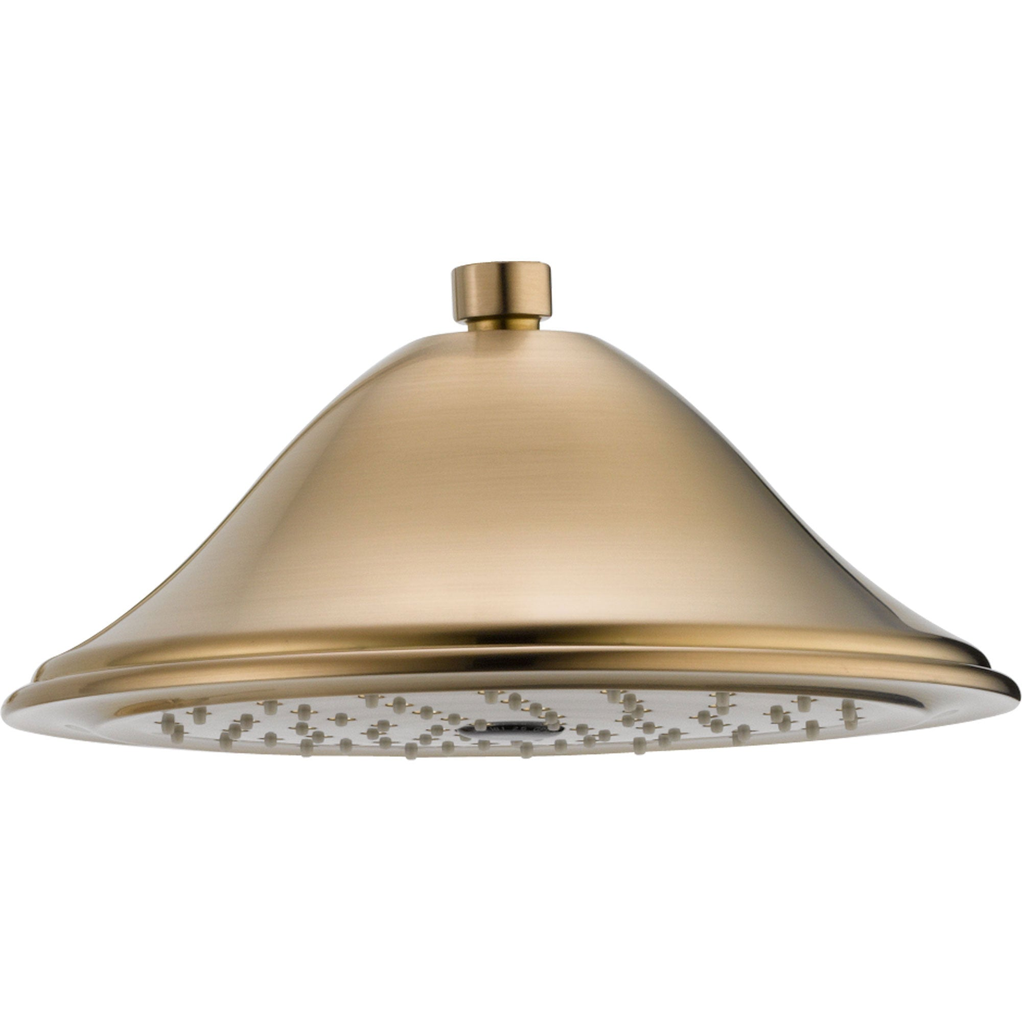Delta 1-Spray 9-3/8 inch Champagne Bronze Finish Large Rain Showerhead 584303
