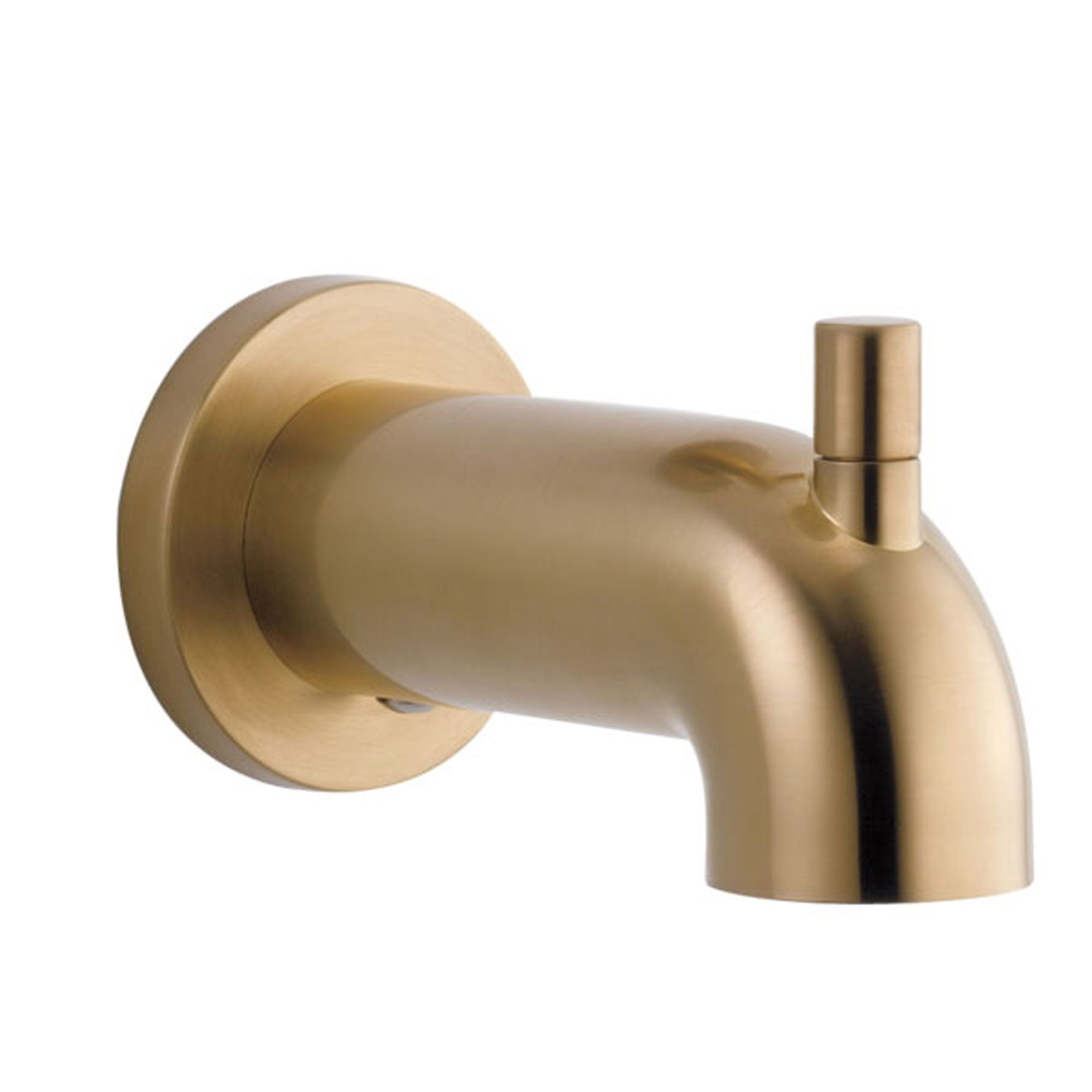 Delta Trinsic Champagne Bronze Finish Pull-Up Diverter Tub Spout DRP73371CZ