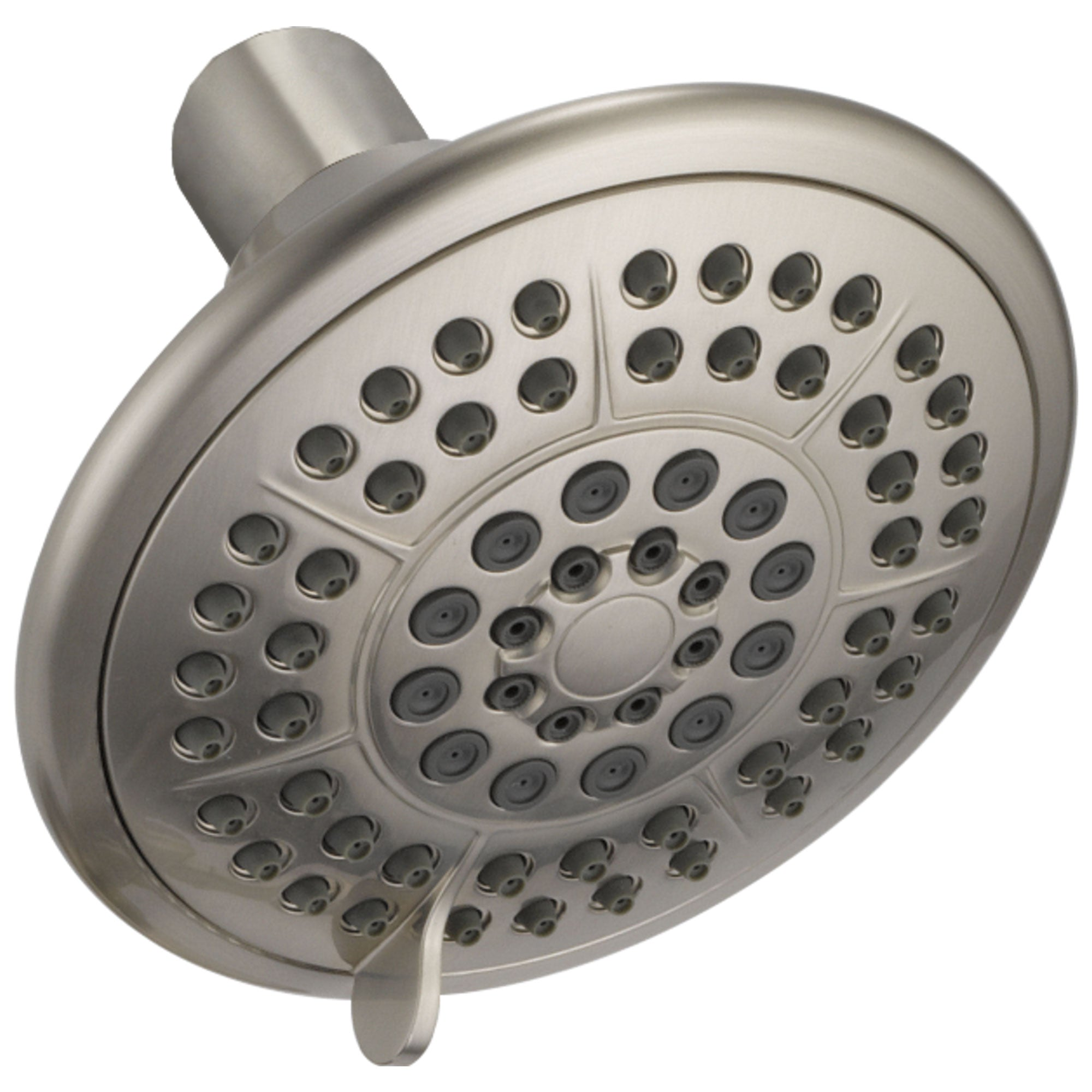 Delta Universal Showering Components Collection Stainless Steel Finish 5-Setting Touch-Clean Shower Head DRP78575SS