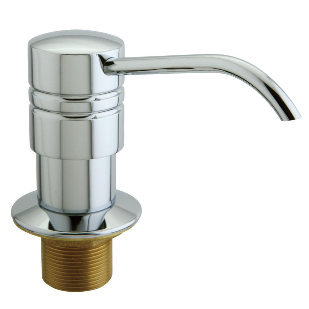 Kingston Chrome Milano Decorative deck mount Easy Fill Soap Dispenser SD2611