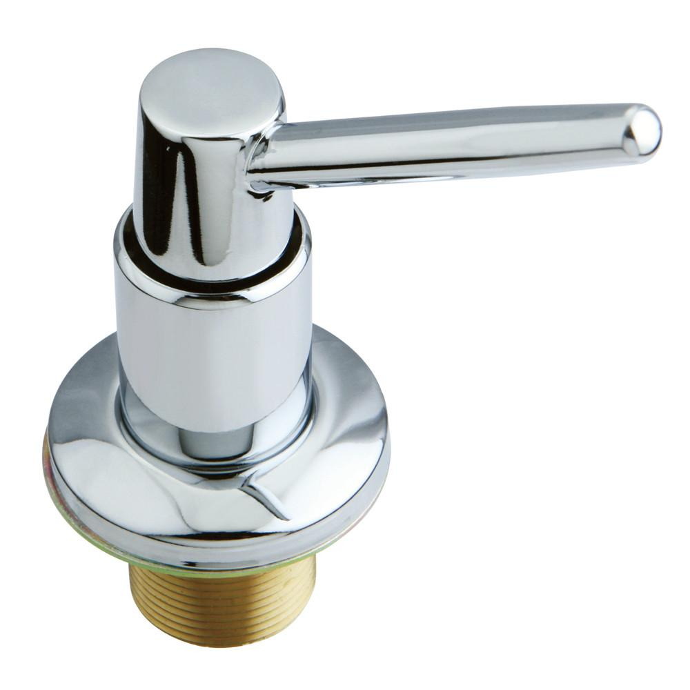 Kingston Chrome Elinvar Decorative deck mount Easy Fill Soap Dispenser SD8641
