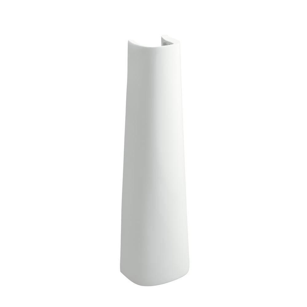 Sterling Sacramento Pedestal in White 663898